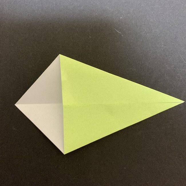 折り紙のプレゼントボックス(平面):折り方作り方 (9)