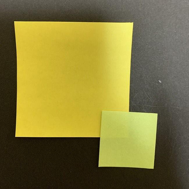 折り紙のプレゼント(平面・一枚で作れる♪):用意するもの (1)