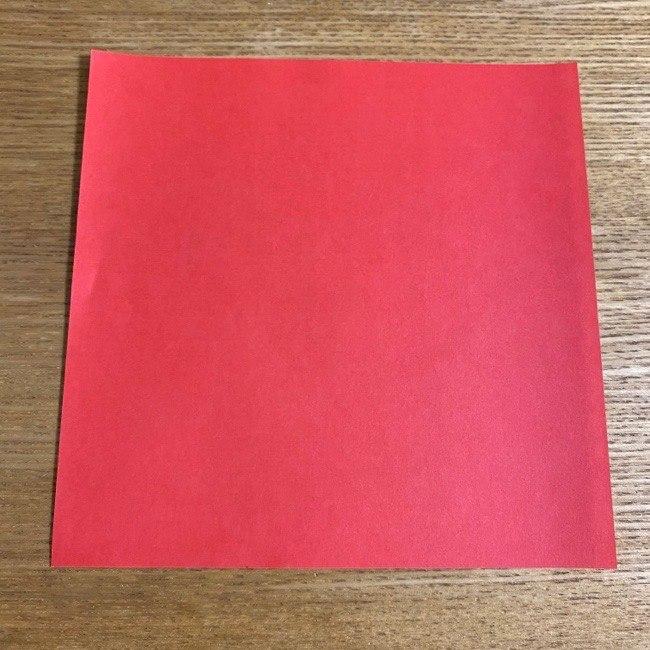 折り紙の名札(ハート型)*用意する物