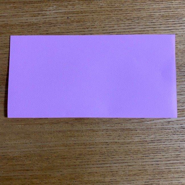 折り紙の腕時計(ハート型)の折り方・作り方 (2)
