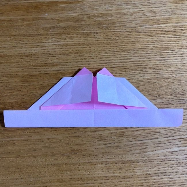 折り紙の腕時計(ハート型)の折り方・作り方 (20)