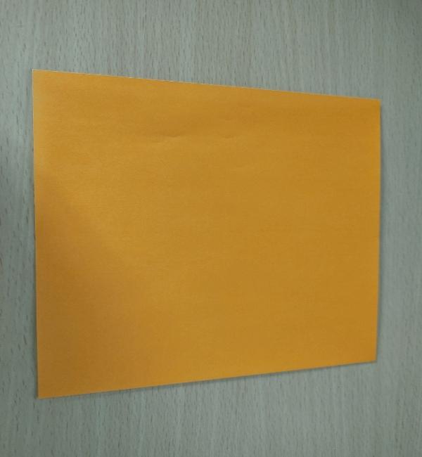 折り紙一枚で風船(ぷっくりハート型)ができる!