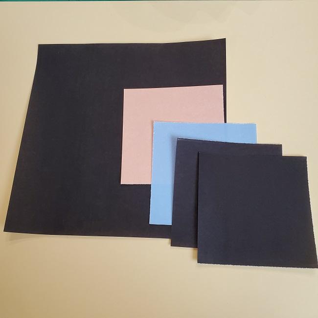 時任無一郎の折り紙*材料・用意するもの (1)