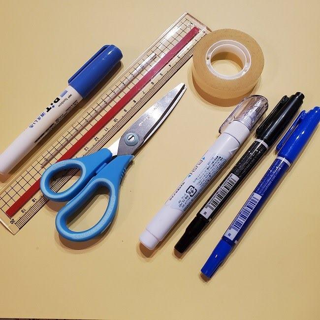 時任無一郎の折り紙*材料・用意するもの (2)