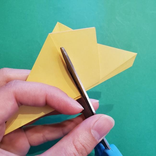 松竹梅【梅】の折り紙は正月飾りにも使える!折り方・作り方 (12)