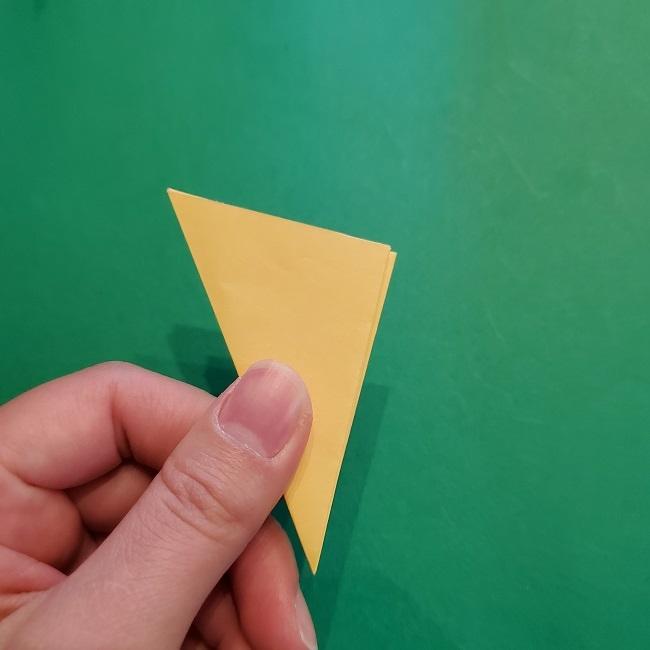 松竹梅【梅】の折り紙は正月飾りにも使える!折り方・作り方 (13)