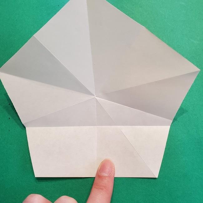 松竹梅【梅】の折り紙は正月飾りにも使える!折り方・作り方 (16)
