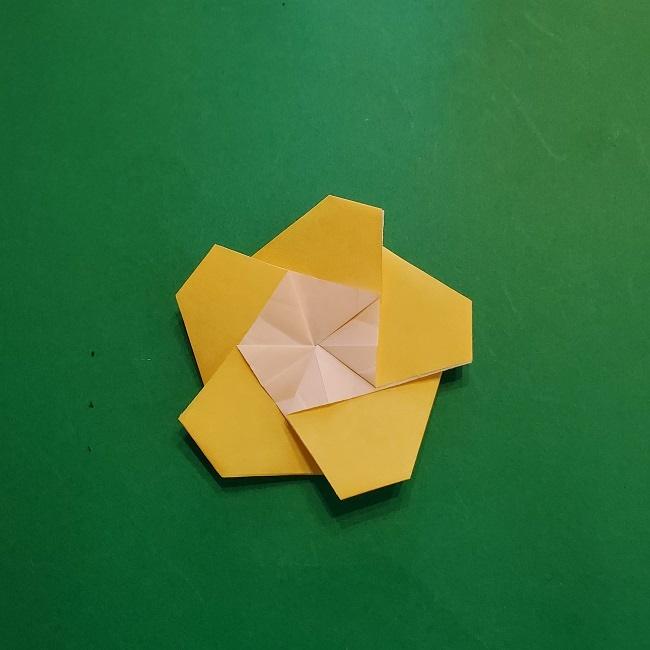 松竹梅【梅】の折り紙は正月飾りにも使える!折り方・作り方 (28)