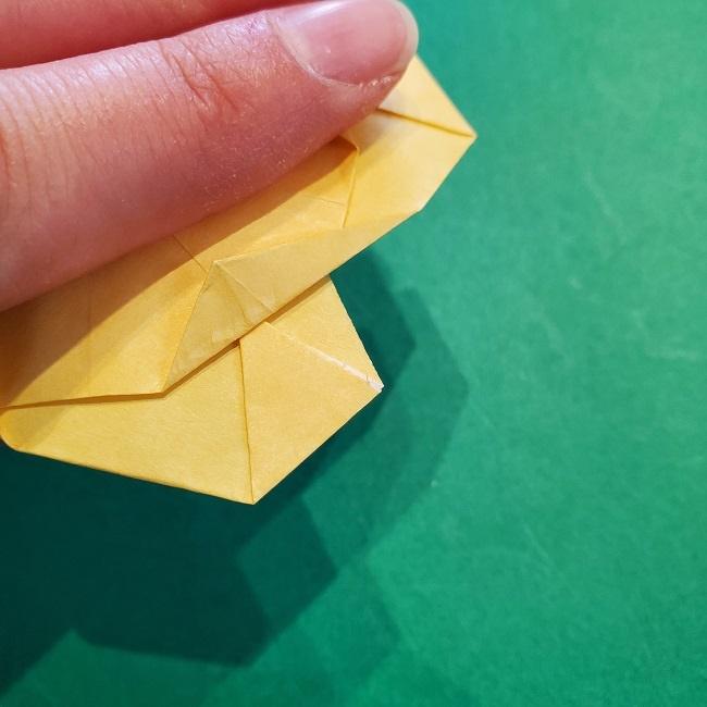 松竹梅【梅】の折り紙は正月飾りにも使える!折り方・作り方 (30)