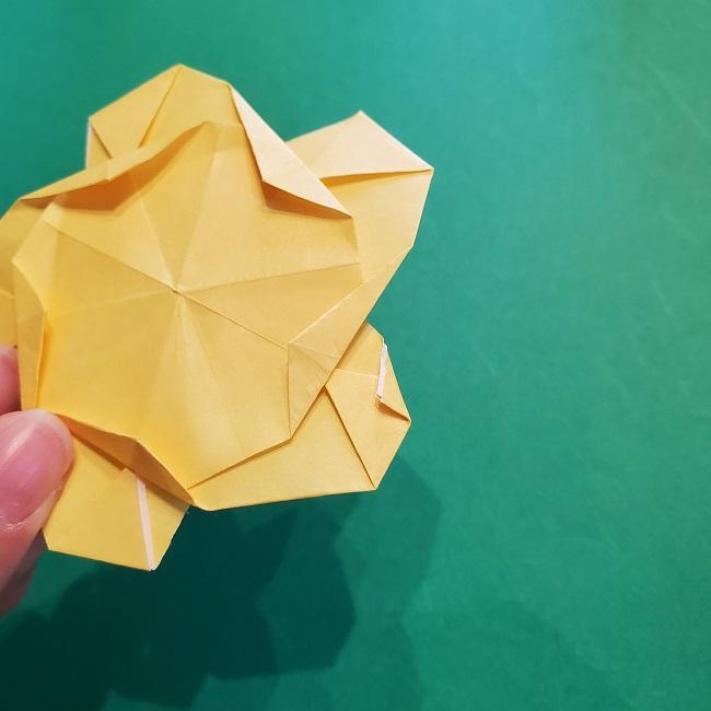 松竹梅【梅】の折り紙は正月飾りにも使える!折り方・作り方 (34)