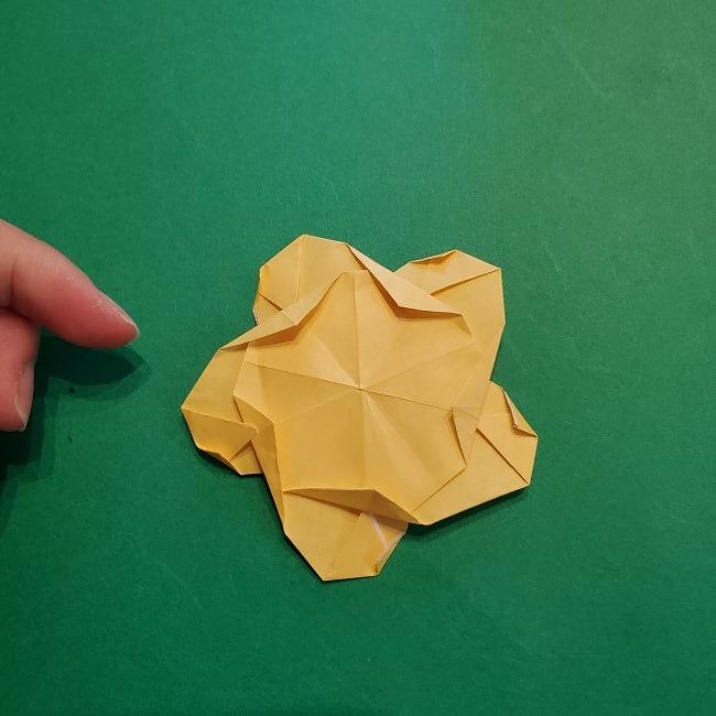 松竹梅【梅】の折り紙は正月飾りにも使える!折り方・作り方 (36)