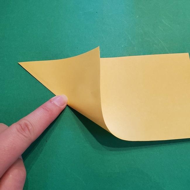 松竹梅【梅】の折り紙は正月飾りにも使える!折り方・作り方 (4)