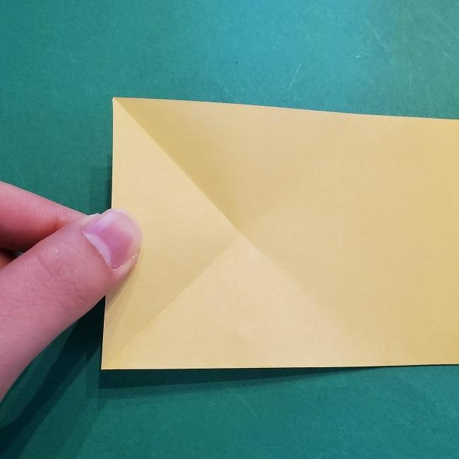 松竹梅【梅】の折り紙は正月飾りにも使える!折り方・作り方 (5)