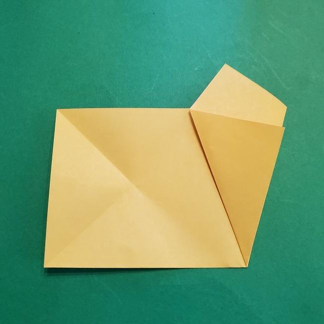 松竹梅【梅】の折り紙は正月飾りにも使える!折り方・作り方 (7)