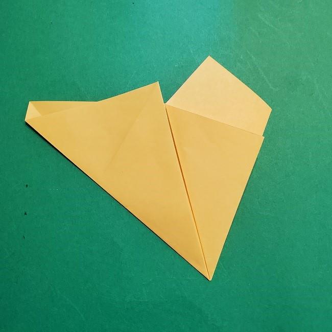 松竹梅【梅】の折り紙は正月飾りにも使える!折り方・作り方 (8)