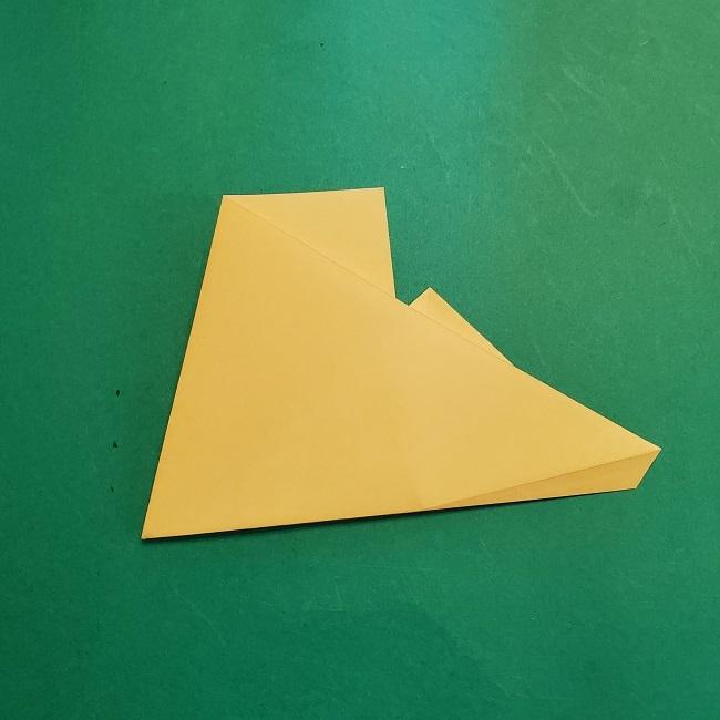 松竹梅【梅】の折り紙は正月飾りにも使える!折り方・作り方 (9)