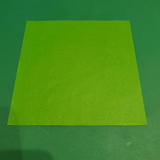 松竹梅の折り紙【松】の折り方・作り方は簡単♪ (1)