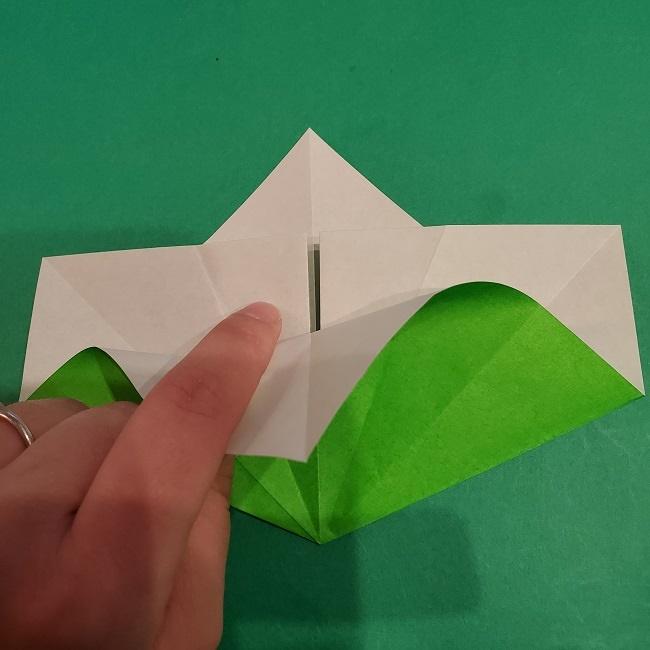 松竹梅の折り紙【松】の折り方・作り方は簡単♪ (10)