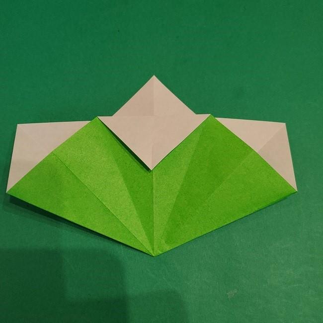 松竹梅の折り紙【松】の折り方・作り方は簡単♪ (12)