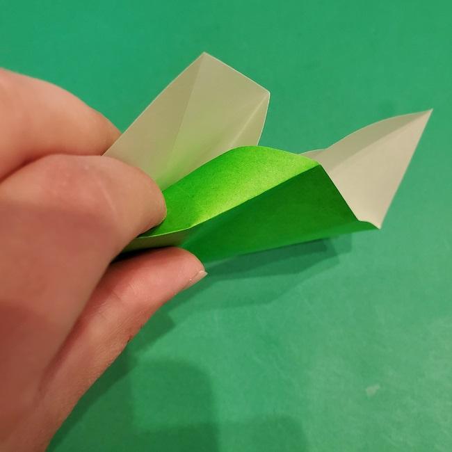 松竹梅の折り紙【松】の折り方・作り方は簡単♪ (13)