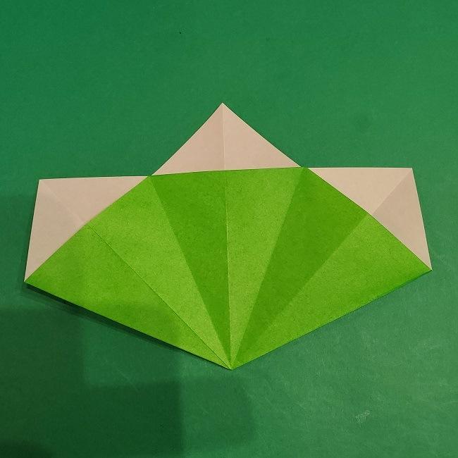 松竹梅の折り紙【松】の折り方・作り方は簡単♪ (14)