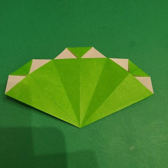 松竹梅の折り紙【松】の折り方・作り方は簡単♪ (15)