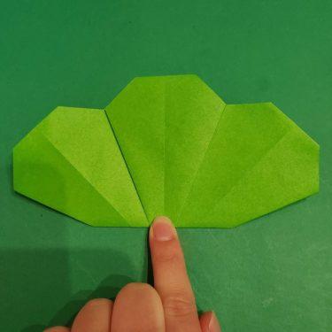 松竹梅の折り紙【松】の折り方・作り方は簡単♪1月に向けて4歳児と作ったよ!