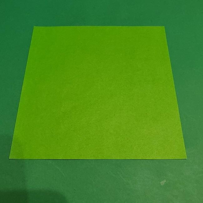 松竹梅の折り紙【松】用意するもの