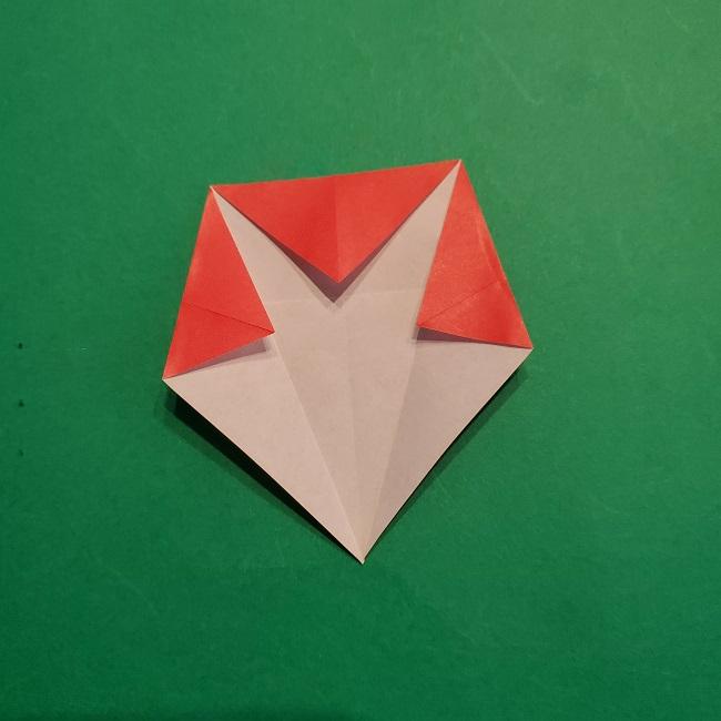 梅の花【つぼみ】の折り紙*折り方 (11)