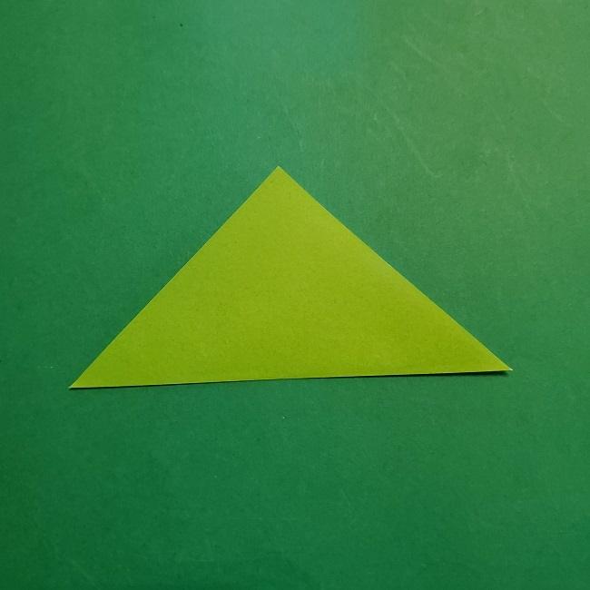 梅の花【つぼみ】の折り紙*折り方 (16)