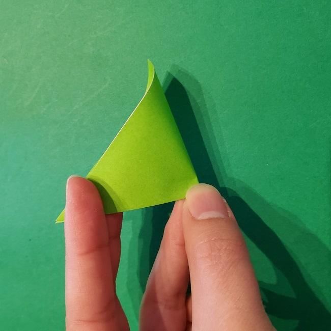 梅の花【つぼみ】の折り紙*折り方 (17)