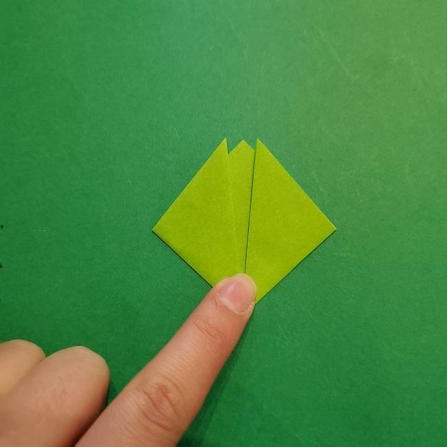 梅の花【つぼみ】の折り紙*折り方 (19)
