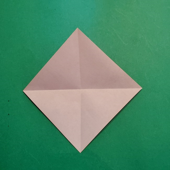 梅の花【つぼみ】の折り紙*折り方 (6)