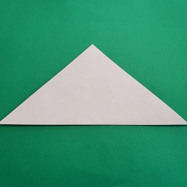 椿の折り紙(立体)の作り方・折り方 (2)