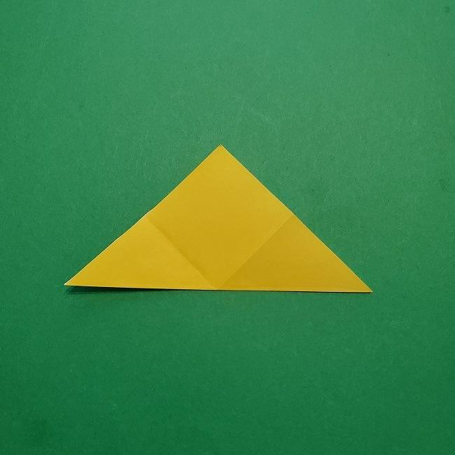 椿の折り紙(立体)の作り方・折り方 (26)
