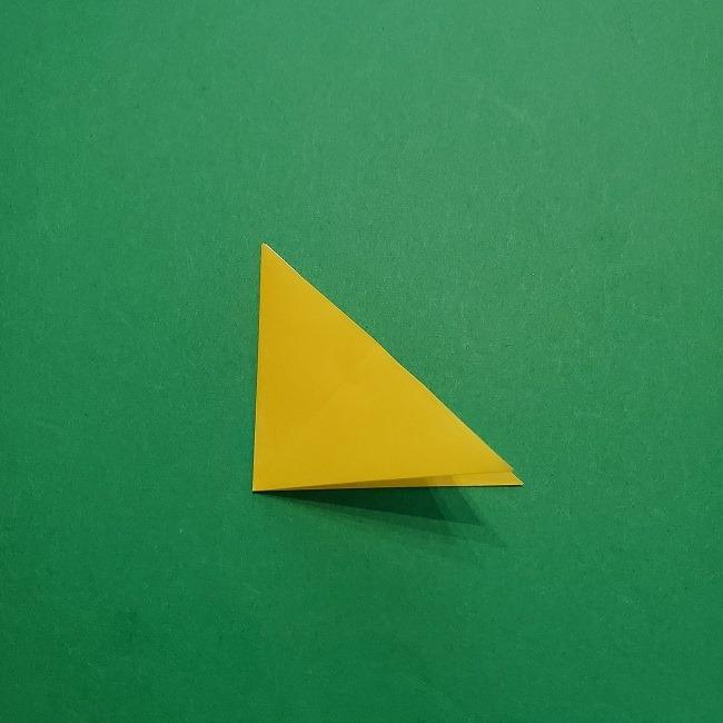 椿の折り紙(立体)の作り方・折り方 (27)