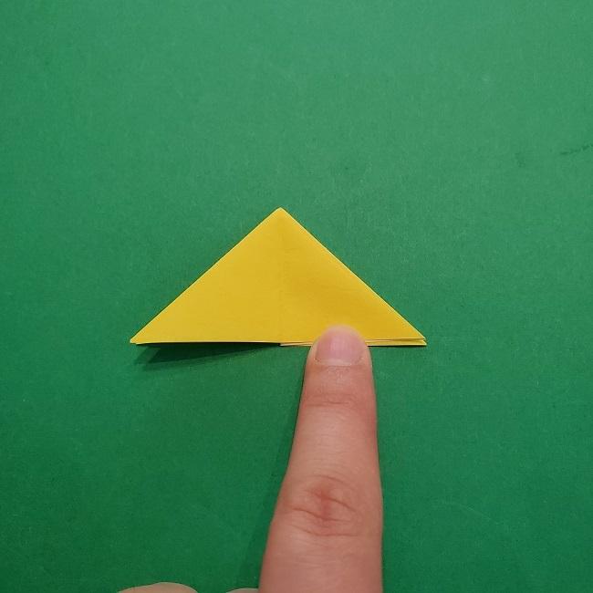 椿の折り紙(立体)の作り方・折り方 (29)