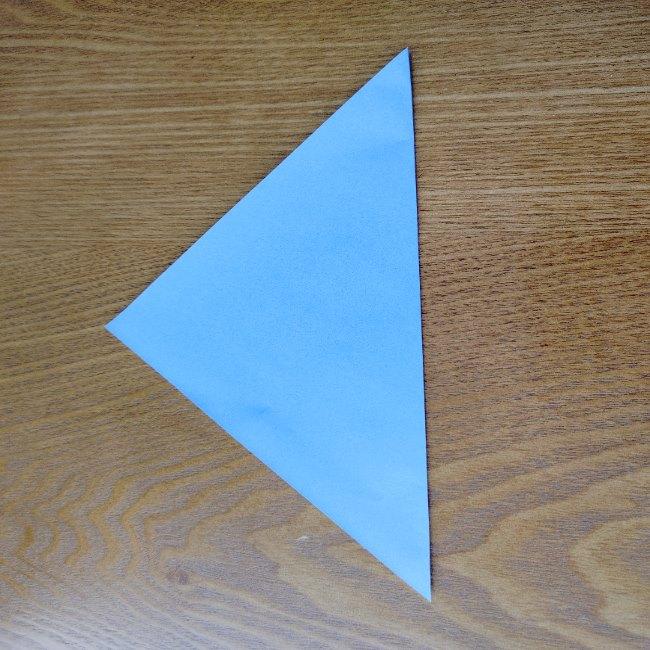節分のリースの折り方(土台作り) (2)