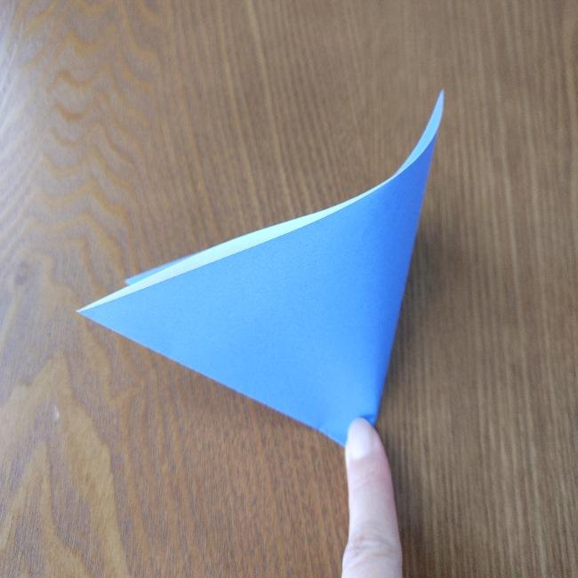 節分のリースの折り方(土台作り) (3)