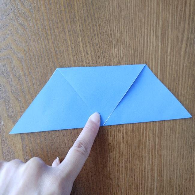 節分のリースの折り方(土台作り) (4)