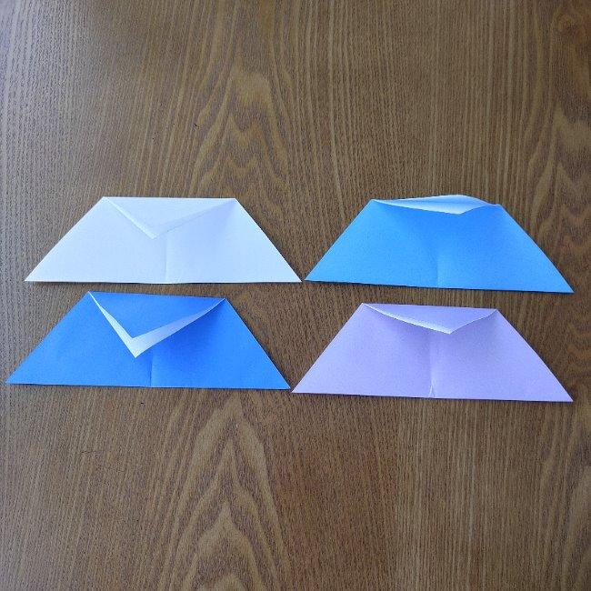 節分のリースの折り方(土台作り) (5)