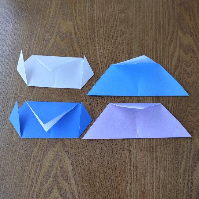 節分のリースの折り方(土台作り) (6)