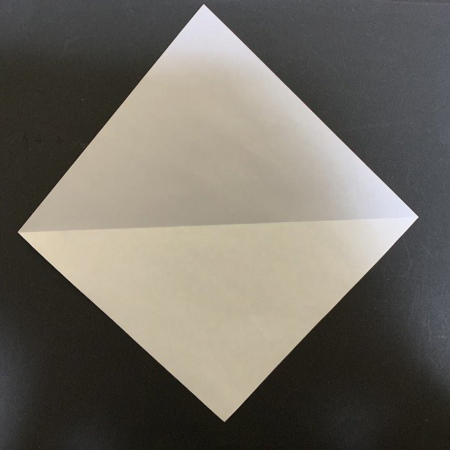 羽ばたく鳩の折り紙*折り方 (1)