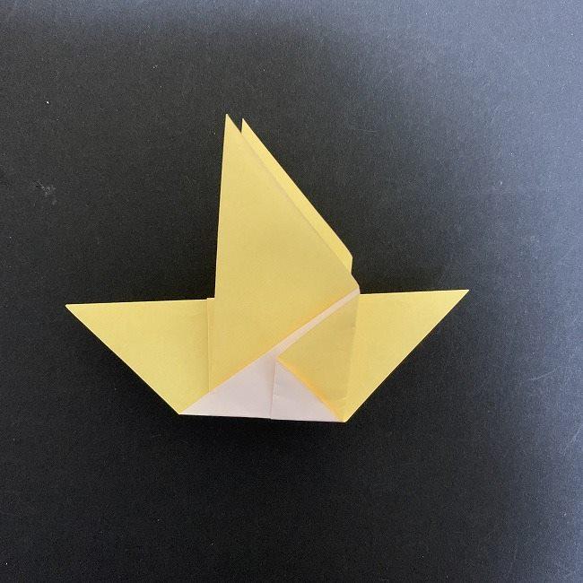 羽ばたく鳩の折り紙*折り方 (10)