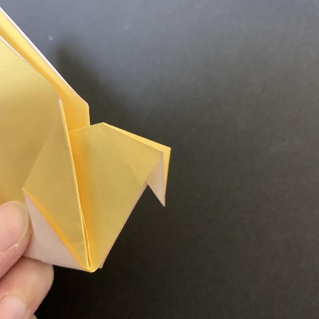 羽ばたく鳩の折り紙*折り方 (12)