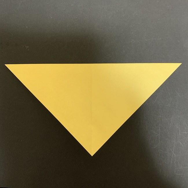 羽ばたく鳩の折り紙*折り方 (2)