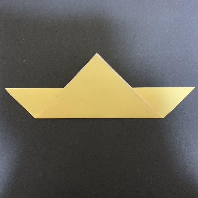 羽ばたく鳩の折り紙*折り方 (4)