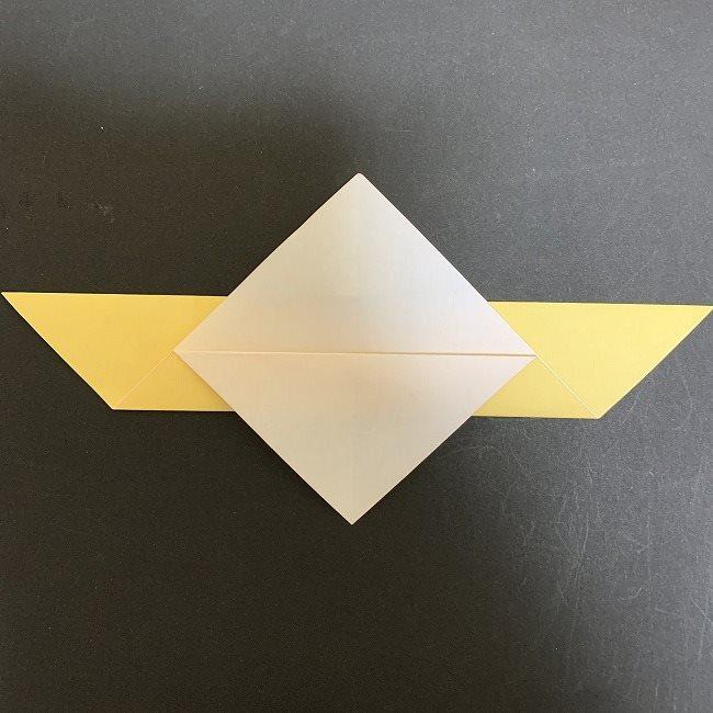 羽ばたく鳩の折り紙*折り方 (5)