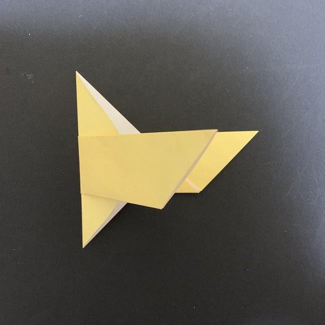 羽ばたく鳩の折り紙*折り方 (6)