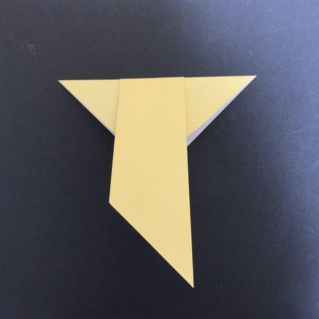 羽ばたく鳩の折り紙*折り方 (7)